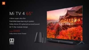 Xiaomi Unveils MiTV 4, 30% Thinner Than iPhone [IMAGES & REVIEW]